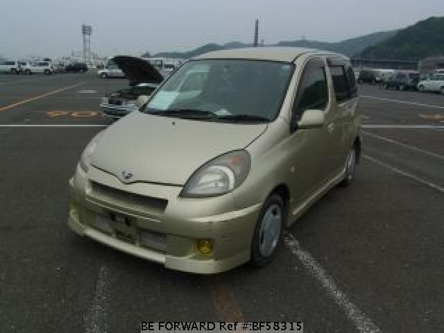 Used 2000 TOYOTA FUN CARGO BF58315 for Sale