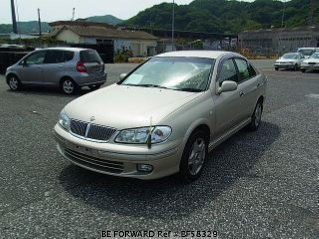 Used 2002 NISSAN BLUEBIRD SYLPHY BF58329 for Sale