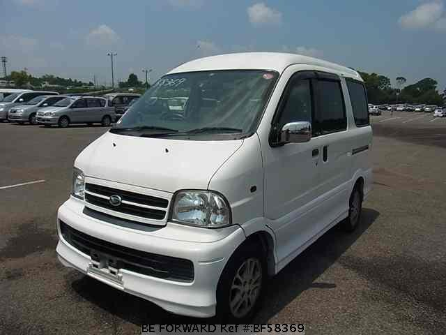 Used 2000 DAIHATSU ATRAI 7 BF58369 for Sale