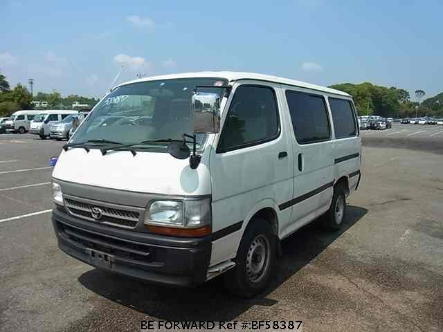 Used 2004 TOYOTA HIACE VAN BF58387 for Sale