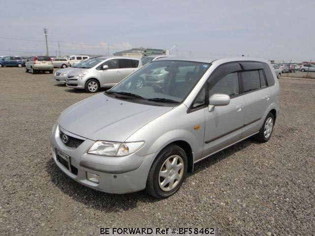 Used 1999 MAZDA PREMACY BF58462 for Sale