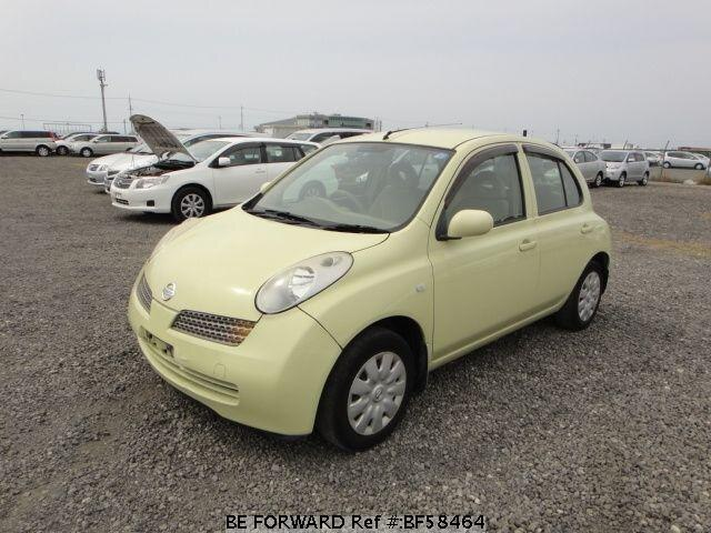Used 2003 NISSAN MARCH BF58464 for Sale