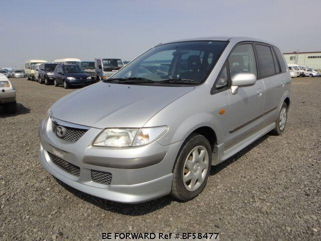 Used 2000 MAZDA PREMACY BF58477 for Sale