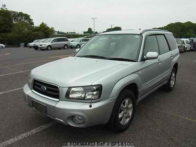Used 2002 SUBARU FORESTER BF58500 for Sale