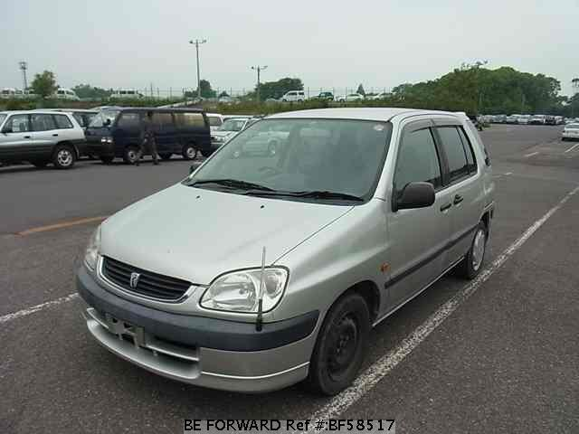 Used 2001 TOYOTA RAUM BF58517 for Sale