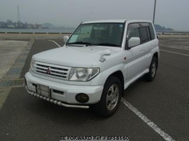 Used 1999 MITSUBISHI PAJERO IO BF58560 for Sale