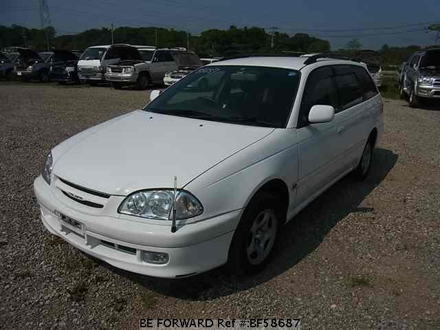 Used 1999 TOYOTA CALDINA BF58687 for Sale
