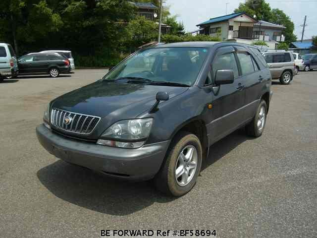 Used 2001 TOYOTA HARRIER BF58694 for Sale