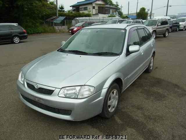 Used 1999 MAZDA FAMILIA S-WAGON BF58721 for Sale