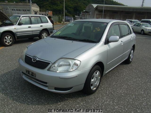 Used 2001 TOYOTA COROLLA RUNX BF58732 for Sale