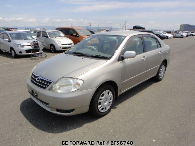 Used 2001 TOYOTA COROLLA SEDAN BF58740 for Sale