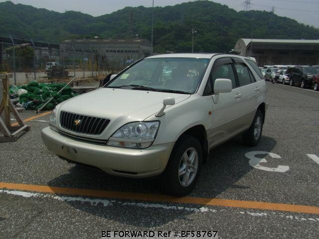 Used 1999 TOYOTA HARRIER BF58767 for Sale