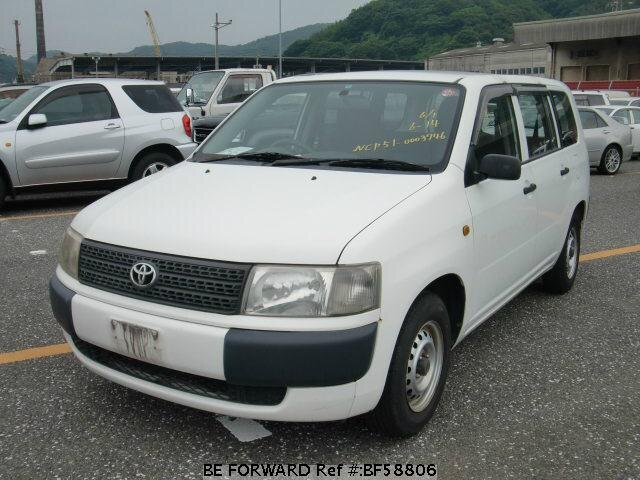 Used 2002 TOYOTA PROBOX VAN BF58806 for Sale