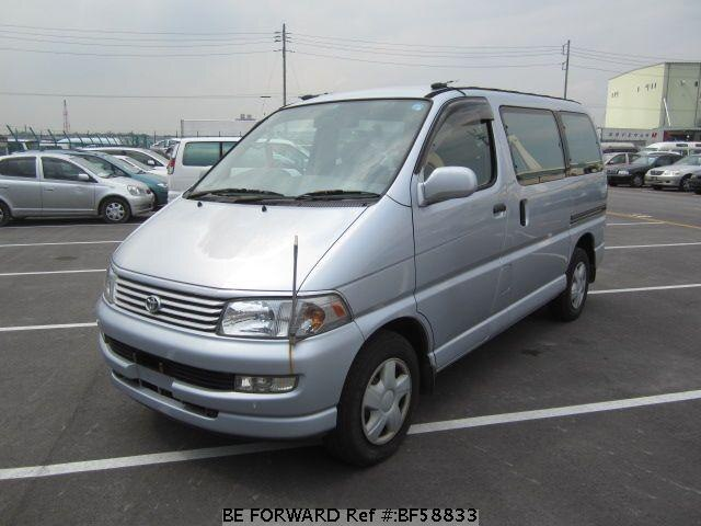 Used 1997 TOYOTA REGIUS WAGON BF58833 for Sale