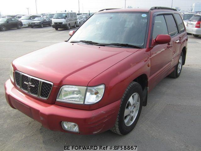 Used 2001 SUBARU FORESTER BF58867 for Sale