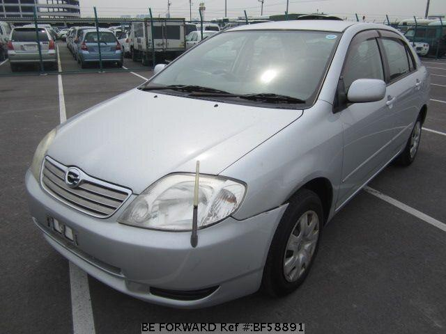 Used 2003 TOYOTA COROLLA SEDAN BF58891 for Sale