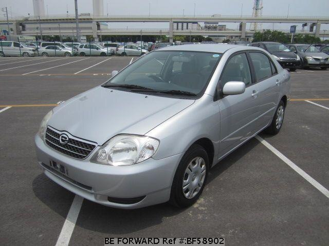 Used 2002 TOYOTA COROLLA SEDAN BF58902 for Sale