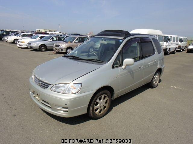 Used 1999 TOYOTA COROLLA SPACIO BF59033 for Sale