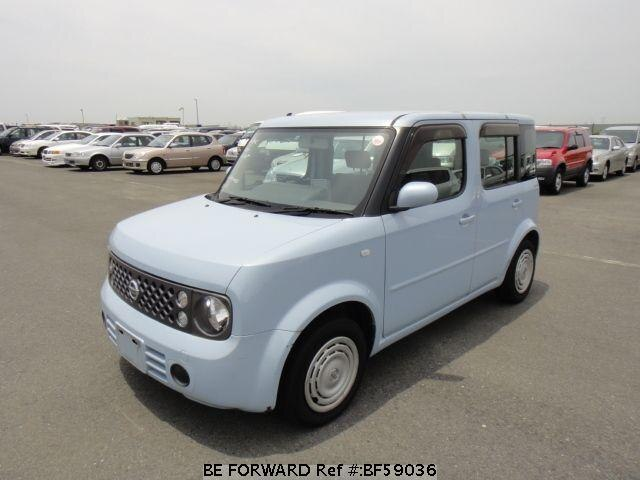 Used 2005 NISSAN CUBE BF59036 for Sale