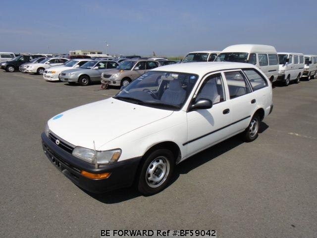 Used 1992 TOYOTA COROLLA VAN BF59042 for Sale
