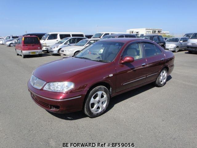Used 2003 NISSAN BLUEBIRD SYLPHY BF59056 for Sale