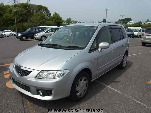 Used 2003 MAZDA PREMACY BF59087 for Sale