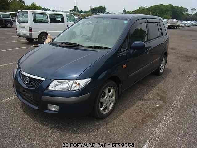 Used 1999 MAZDA PREMACY BF59088 for Sale