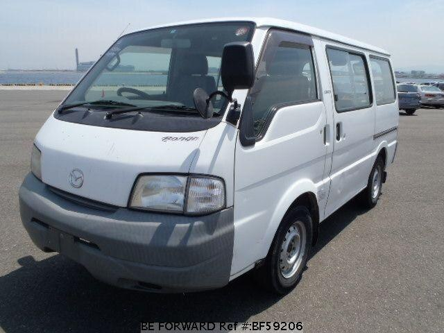 Used 1999 MAZDA BONGO VAN BF59206 for Sale