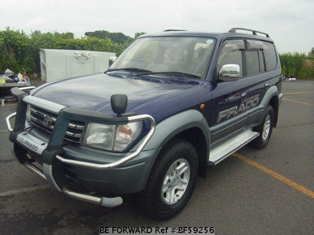 Used 1997 TOYOTA LAND CRUISER PRADO BF59256 for Sale