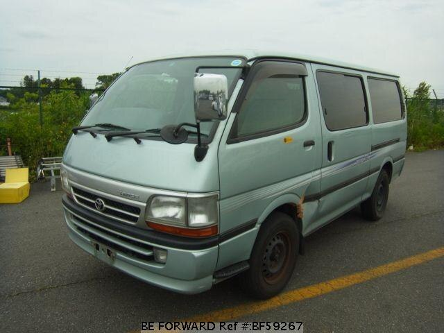 Used 2001 TOYOTA HIACE VAN BF59267 for Sale