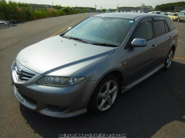 Used 2003 MAZDA ATENZA SPORT WAGON BF59294 for Sale