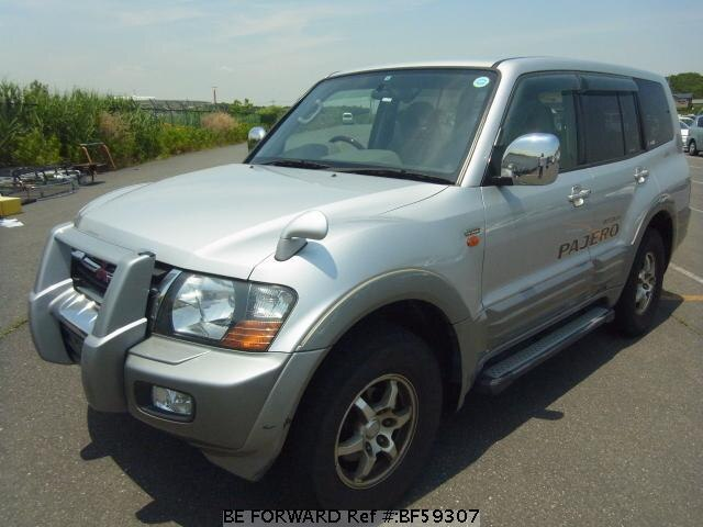 Used 2001 MITSUBISHI PAJERO BF59307 for Sale