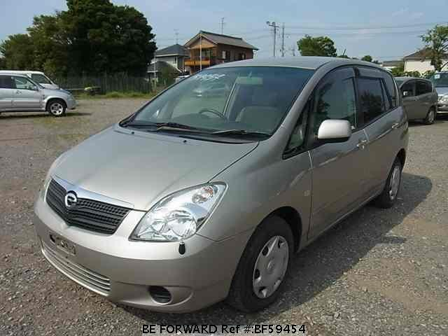 Used 2002 TOYOTA COROLLA SPACIO BF59454 for Sale