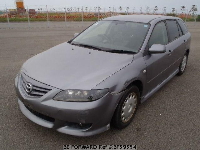Used 2005 MAZDA ATENZA SPORT WAGON BF59554 for Sale