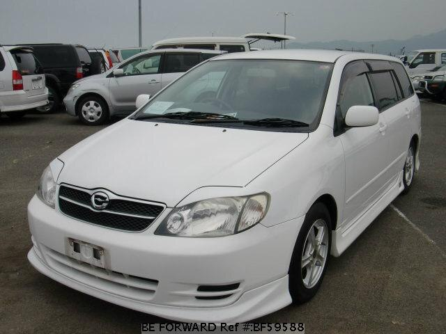 Used 2004 TOYOTA COROLLA FIELDER BF59588 for Sale
