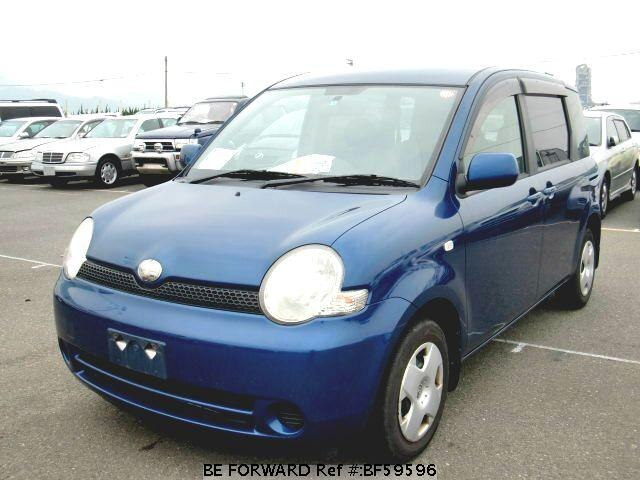 Used 2004 TOYOTA SIENTA BF59596 for Sale