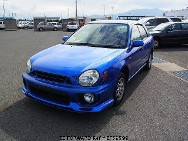 Used 2001 SUBARU IMPREZA SPORTSWAGON BF59599 for Sale
