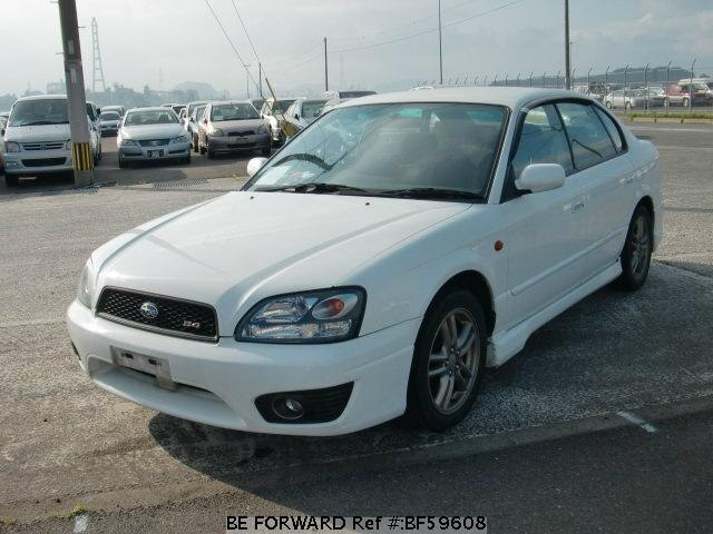 Used 2002 SUBARU LEGACY B4 BF59608 for Sale