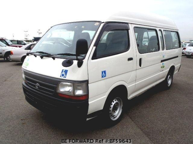 Used 2002 TOYOTA HIACE VAN BF59643 for Sale