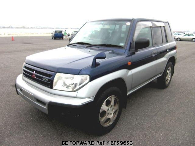 Used 2000 MITSUBISHI PAJERO IO BF59653 for Sale