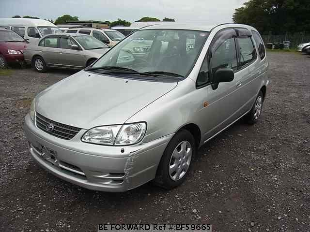 Used 1999 TOYOTA COROLLA SPACIO BF59665 for Sale