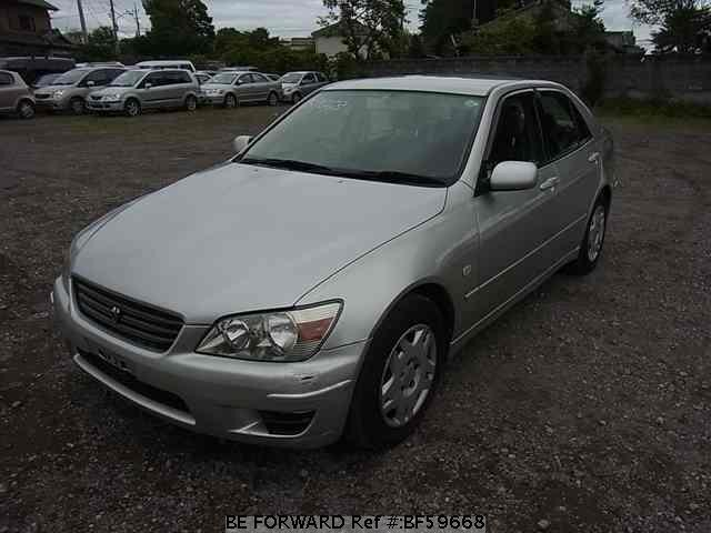 Used 2001 TOYOTA ALTEZZA BF59668 for Sale
