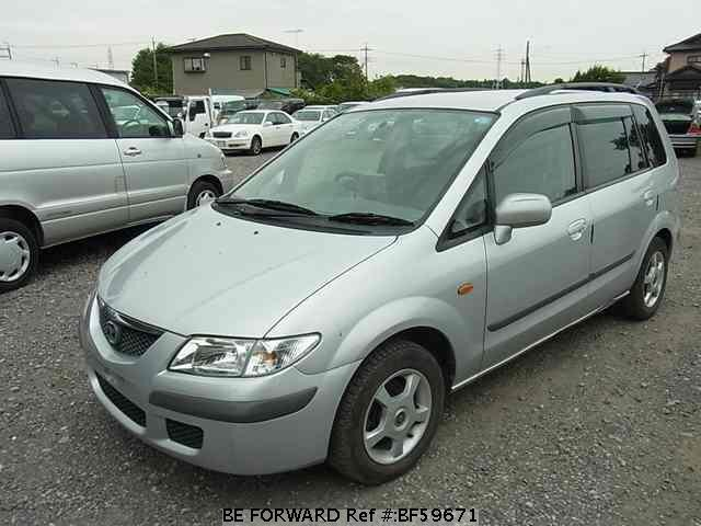 Used 1999 MAZDA PREMACY BF59671 for Sale