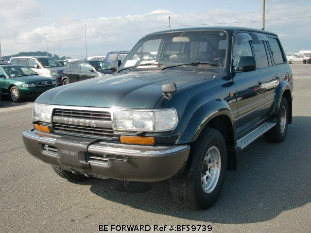 Used 1993 TOYOTA LAND CRUISER BF59739 for Sale