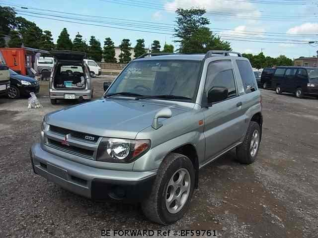 Used 1999 MITSUBISHI PAJERO IO BF59761 for Sale