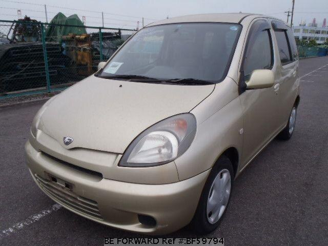 Used 2001 TOYOTA FUN CARGO BF59794 for Sale