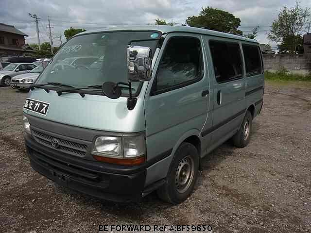 Used 2004 TOYOTA HIACE VAN BF59850 for Sale