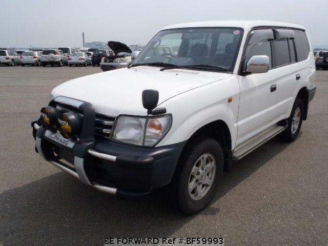 Used 1997 TOYOTA LAND CRUISER PRADO BF59993 for Sale
