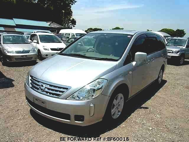 Used 2003 NISSAN PRESAGE BF60018 for Sale