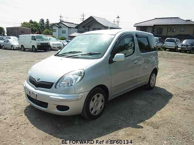 Used 2003 TOYOTA FUN CARGO BF60134 for Sale